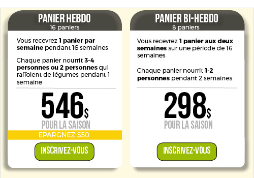Pricing table_FR